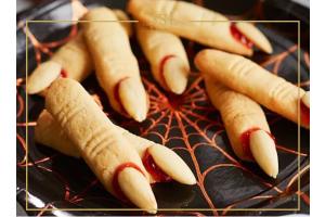 Hexenfinger Halloween Rezept