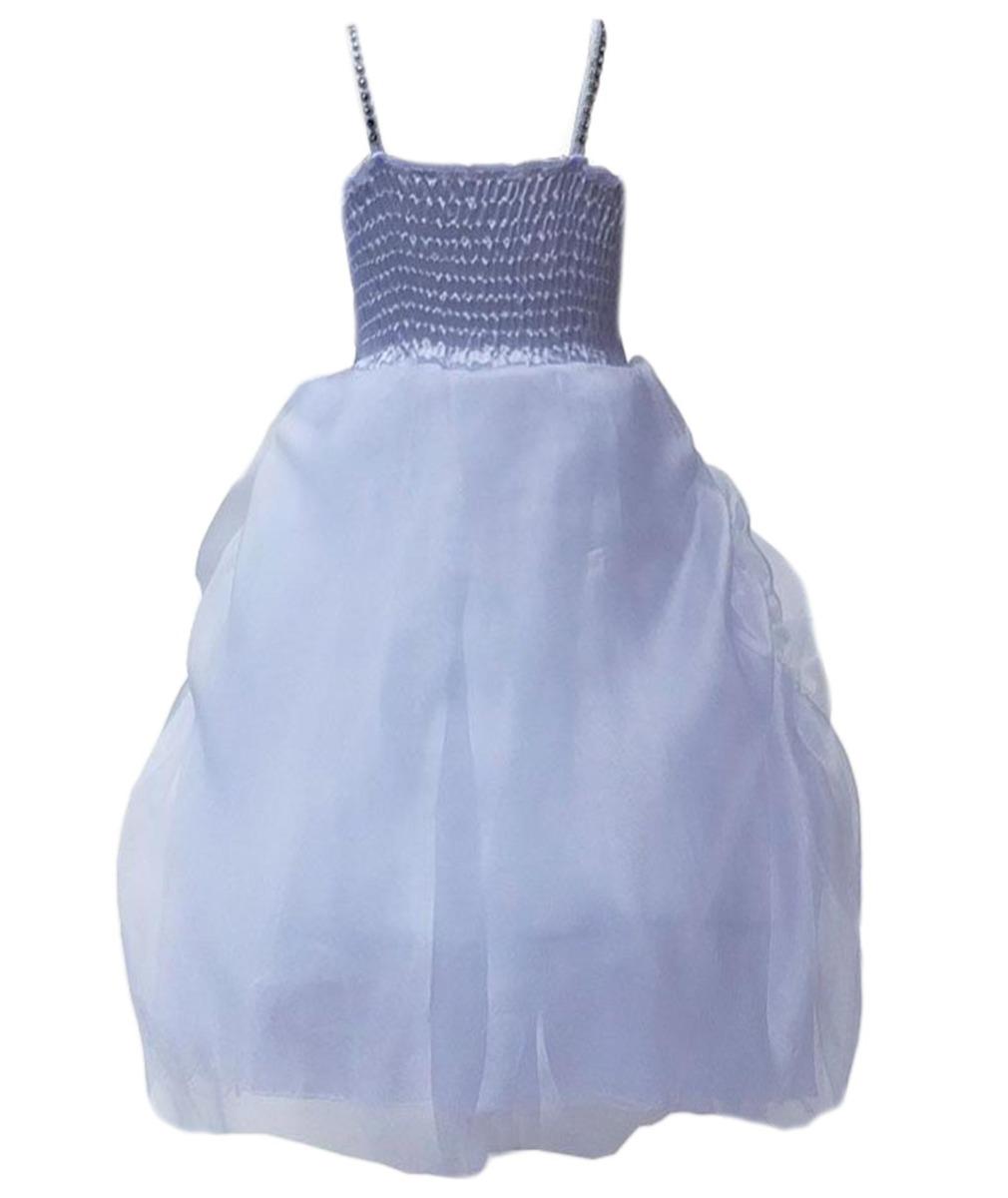 White Flower Girls Dresses, Christening Party Prom Wedding Dresses