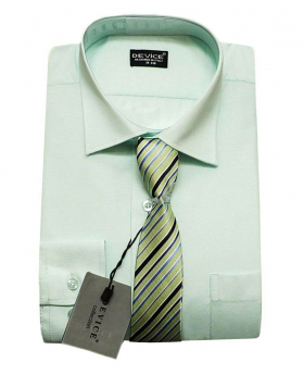 Page Boy Mint Shirt and Tie Set